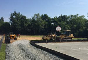Somerset Field Construction Started
